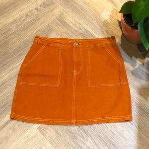 ✨Sale✨ Burnt orange skirt